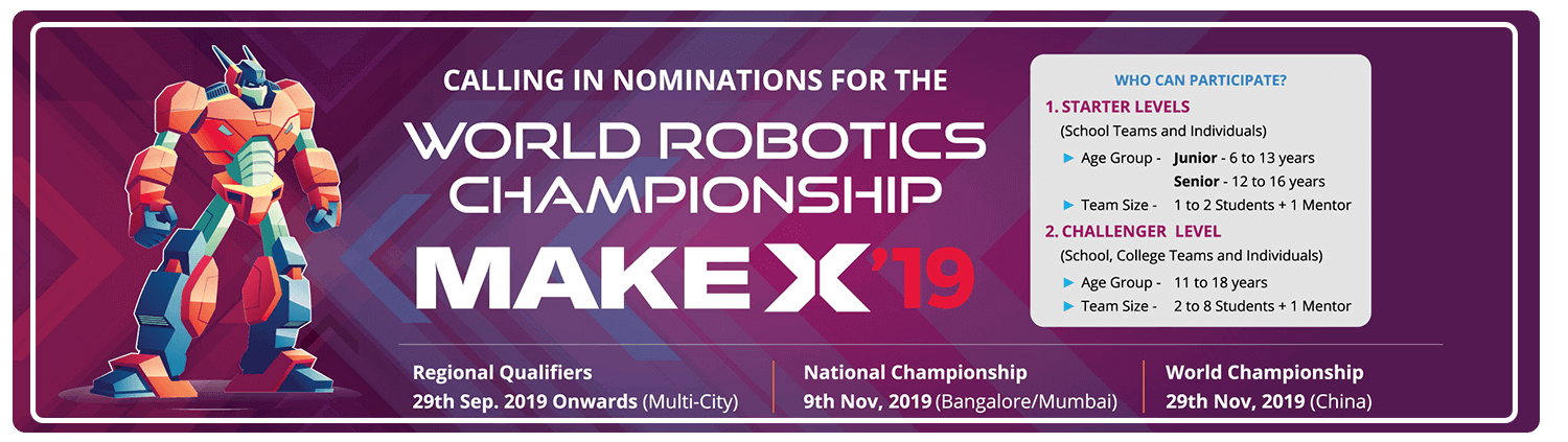 MakeX International Robotics Competition 2019